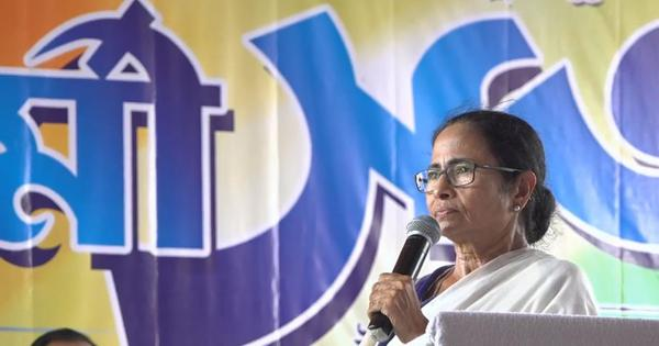 West Bengal: Mamata Banerjee criticises Centre for sending tax notice to Durga Puja organisers