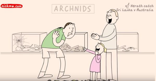 What if real people spoke like cricket commentators? Watch this hilarious animated cartoon