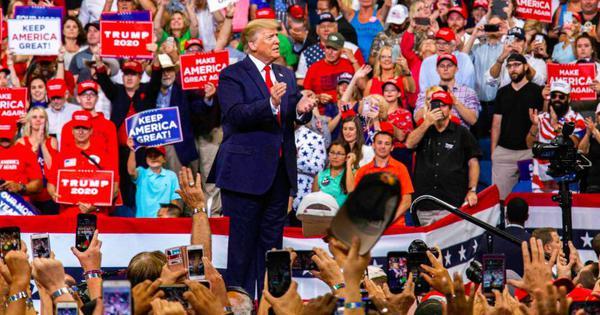 डोनाल्ड ट्रंप ने 2020 के अमेरिकी राष्ट्रपति चुनाव के लिए अपना प्रचार अभियान शुरू किया