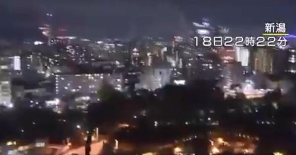 Watch: CCTV footage of Japan's Niigata city when a powerful earthquake struck