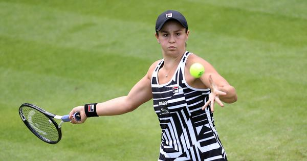New world No 1 Ash Barty withdraws from Eastbourne but hopeful of being fit for Wimbledon