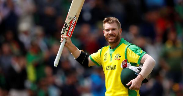 World Cup: Australia top table as Warner's 166 takes them to 48-run win over Bangladesh