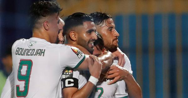 Africa Cup of Nations: Riyad Mahrez helps Algeria ease past Kenya, Senegal beat Tanzania