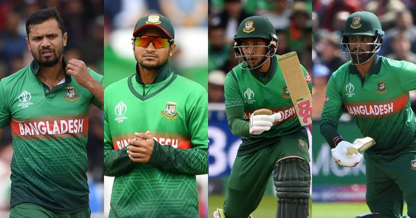 Mortaza, Shakib, Rahim, Tamim: A fine World Cup so far, but Bangladesh's Fab 4 have it all to do yet