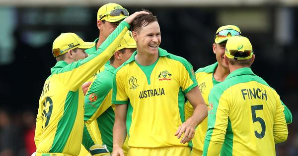 World Cup: Finch, Behrendorff, Starc star as Australia become first team to reach semi-finals