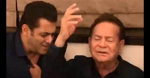 'Sultan of our family': Salman Khan shares video of father Salim Khan singing a Rafi classic