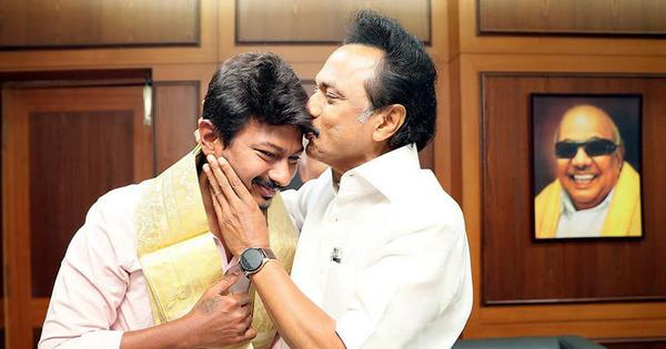 MK Stalin's son Udhayanidhi appointed DMK youth wing secretary