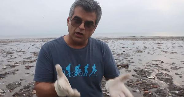 A review like never before: Watch what comedian Atul Khatri has to say about the garbage in Mumbai