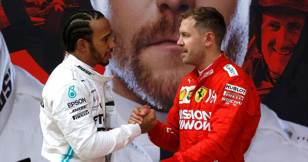 Sebastian Vettel is our first choice: Ferrari deny reports about Lewis Hamilton joining the team