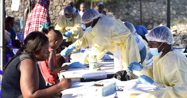 WHO declares Ebola outbreak in DR Congo a  global health emergency