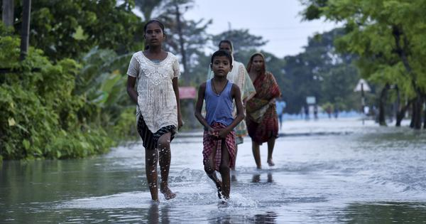 Over 100 killed in floods in Bihar and Assam, 3.4 lakh people in relief camps