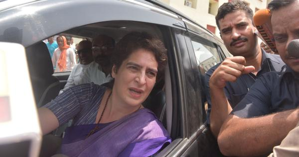 Top news: Congress leader Priyanka Gandhi stopped while on her way to meet kin of Sonbhadra victims
