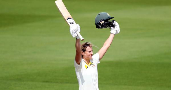 Ashes: Ellyse Perry scores ton as rain ruins England's chances and second day of the Test
