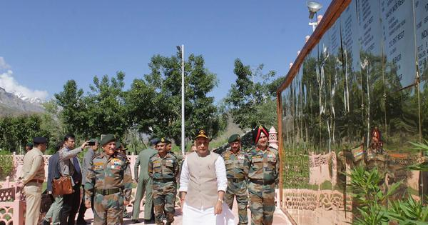Jammu and Kashmir: No power on earth can stop resolution of Kashmir matter, says Rajnath Singh
