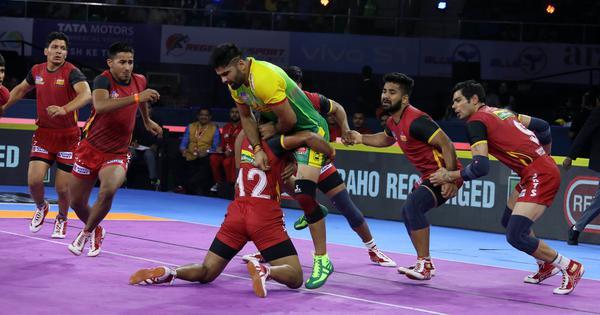 Pro Kabaddi 2019: Defending champs Bengaluru Bulls start with win; U Mumba beat hosts Telugu Titans