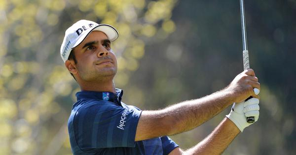 Golf: Shubhankar Sharma stands tied-third after superb start at Italian Open
