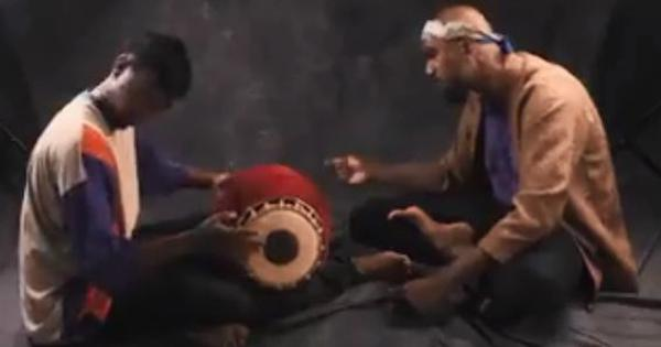 Watch: Would you believe rap songs can be performed to the beat of a mridangam?