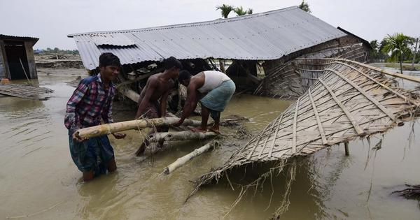Floods continue to wreak havoc in Assam, Bihar, toll rises to 170