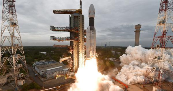 Watch: Footage of the Chandrayaan-2  launch from the onboard camera