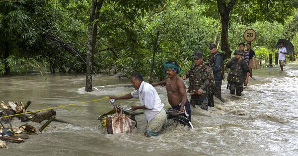 Toll in Bihar and Assam floods climbs to 197