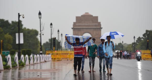 Delhi air quality improves to 'satisfactory' due to rainfall