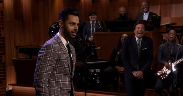 Watch: Television hosts Hasan Minhaj and Jimmy Fallon share embarrassing stories of their parents