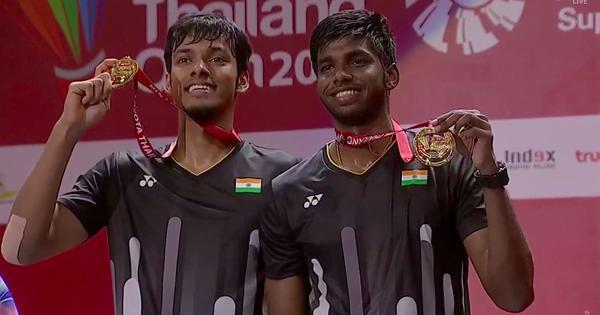 Thailand Open badminton: Satwik-Chirag script history, win India's first Super 500 doubles title