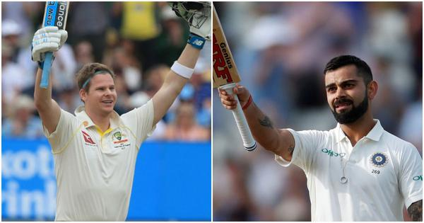 ICC Test rankings: Kohli moves within one point of Smith, Agarwal breaks into top-20