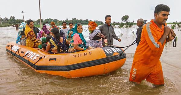 In photos: Flood situation worsens in Karnataka and Maharashtra, 2.5 lakh people evacuated