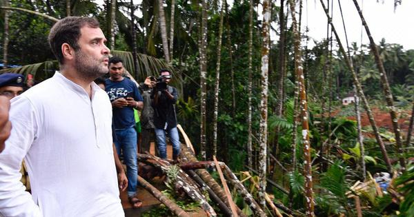 Kerala floods: 'Heartbreaking to see what people have lost,' says Rahul Gandhi in Wayanad