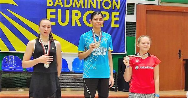 Badminton: Samiya Faroqui leads the charge as India win three gold medals in Bulgarian junior event
