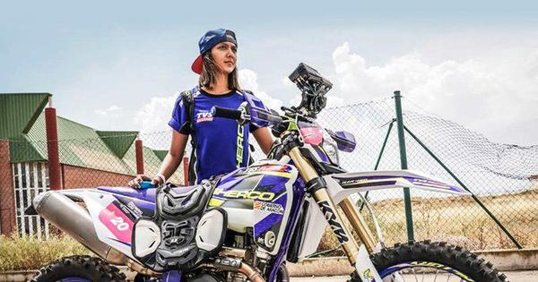 Aishwarya Pissay won motorpsort title on technicality, was the only woman to enter in all four races
