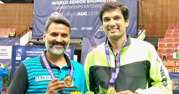 Badminton: India end World Senior Championships on a high with one gold and two silver medals