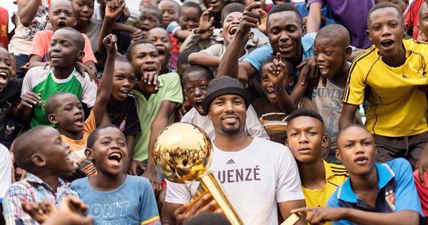 Once a beggar, Toronto Raptors' Serge Ibaka revisits restaurant in Congo as NBA champion