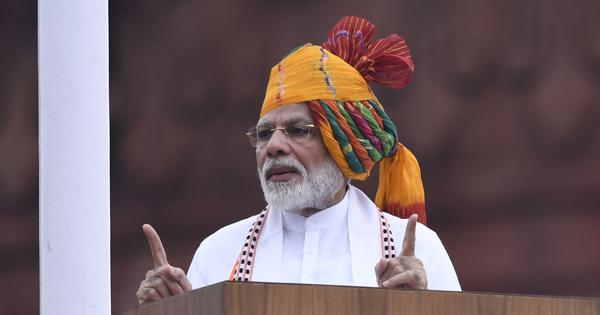 Jammu and Kashmir, population explosion, $5-trillion economy: Key points in PM Modi's I-Day speech