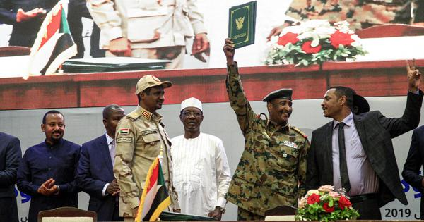 Sudan: Civilian-led opposition and ruling military council sign power-sharing deal