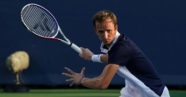 Tennis: Daniil Medvedev reaches fifth straight ATP final with hard fought win over Egor Gerasimov