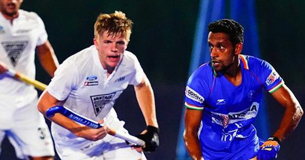 Hockey: India men lose 1-2 against New Zealand in Olympic test event