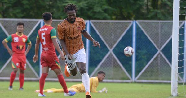 Indian football: Marcus Joseph's hat-trick fires Gokulam Kerala into semi-finals of Durand Cup