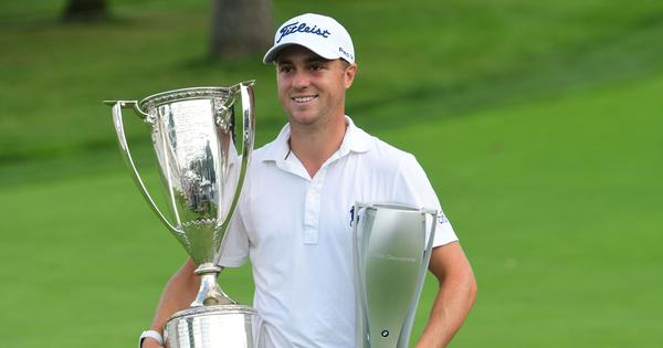 Golf: Justin Thomas claims 10th US PGA title after beating Patrick Cantlay to win BMW Championship