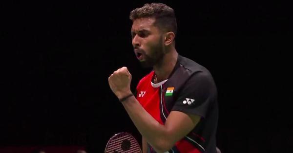 Badminton World C'ships: HS Prannoy knocks out Lin Dan, Sai Praneeth beats Lee to reach third round