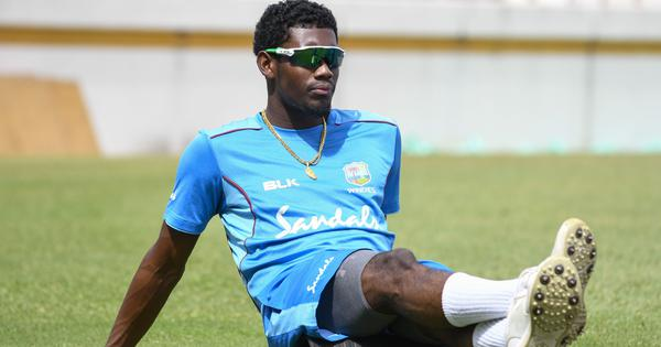 Keemo Paul ruled out of first Test against India with ankle injury, Miguel Cummins named replacement