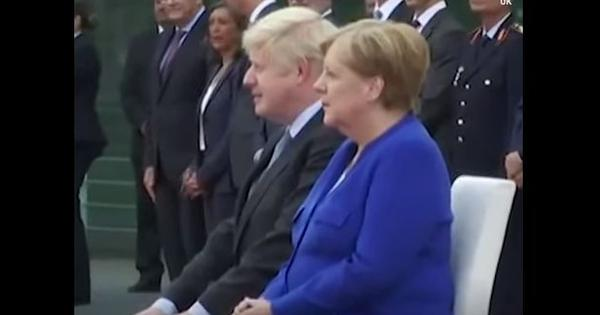 Watch: Chants of 'liar' and 'stop Brexit' mar UK Prime Minister Boris Johnson's Berlin visit