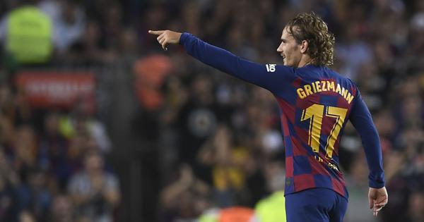 La Liga: Inspired by Messi and LeBron, Griezmann fires Barcelona to 5-2 win over Real Betis