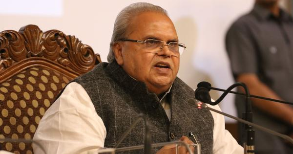 I was offered Rs 300 crore to clear deals of 'Ambani', RSS officer, claims former J&K governor