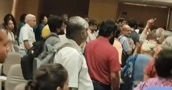 Delhi: Rights event disrupted by protestors after venue officials say it's against national interest