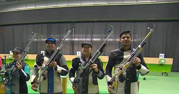 ISSF World Cup: India bag gold medals in pistol and rifle mixed team events to finish top in Rio