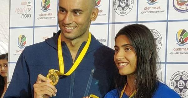 Swimming: Like husband Virdhawal, wife Rutuja Khade aims for national record in 50m freestyle