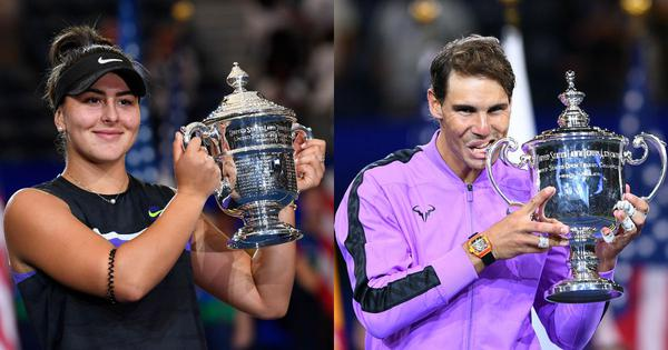 From Nadal's magic to Andreescu's unbelievable triumph: A recap of US Open 2019 in gifs