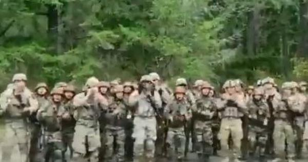 Watch: Indian, American soldiers together sing Assam regiment's marching song 'Badluram' in the US